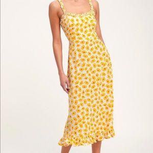 NWT Faithfull the brand Noemi dress